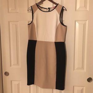 LOFT color block dress, size 12